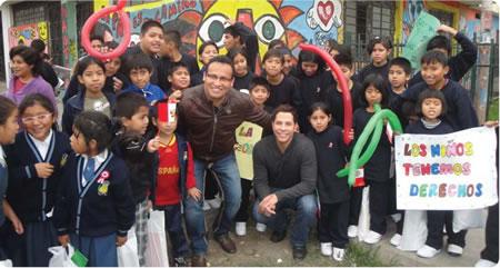 La Fundación Peruanitos y Christian Chávez con exitoso viaje al Perú