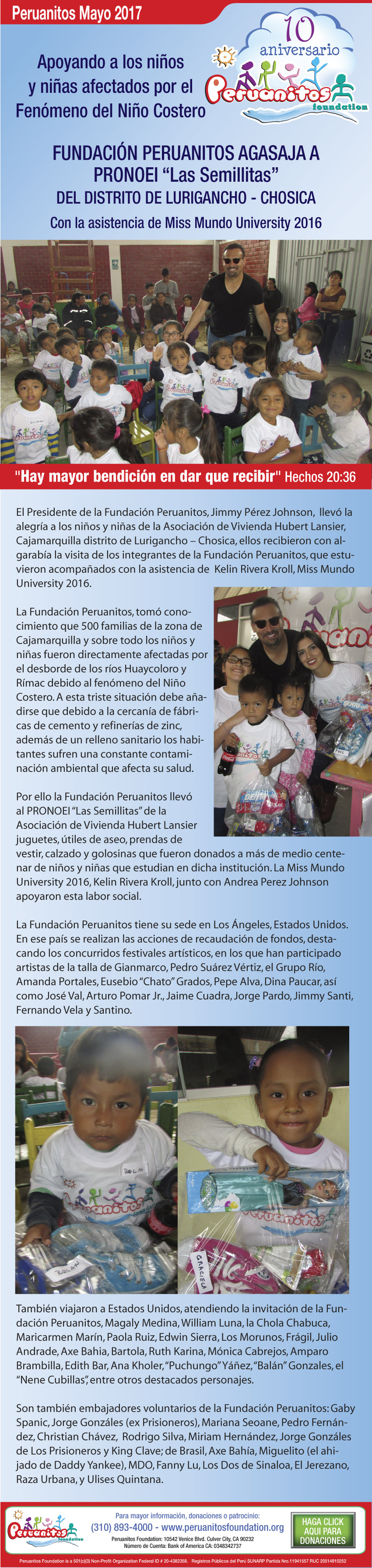 Peruanitos News Abril 2017