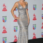 Celebrities arrive backstage during the The 13th Annual Latin Grammy Awards at the Mandalay Bay Resort and Casino in Las Vegas, Nevada.  Pictured: Ninel Conde Ref: SPL460014  151112   Picture by: CFI / Splash News  Splash News and Pictures Los Angeles:	310-821-2666 New York:	212-619-2666 London:	870-934-2666 photodesk@splashnews.com