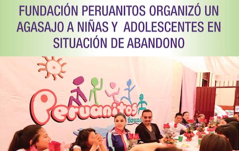Fundación Peruanitos Organizó un agasajo a niñas y adolescentes en situación de abandono