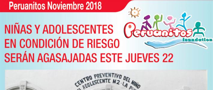 Niñas y Adolescentes en condición de Riesgo serán agasajadas este jueves 22